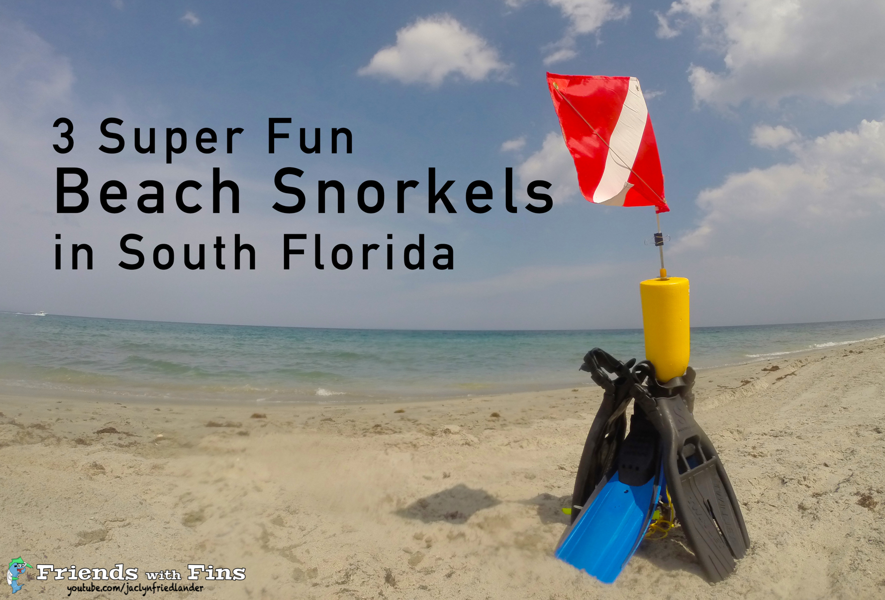 3 Super Fun Beach Snorkels in South Florida